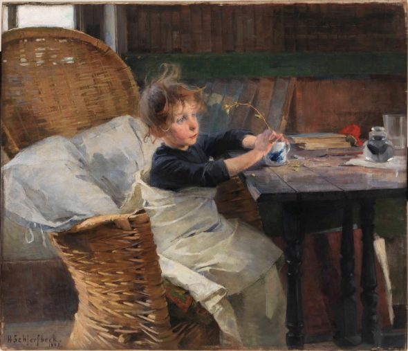 Helene Schjerfbeck, The Convalescent, 1888. Finnish National Gallery - Ateneum Art Museum. Photo Yehia Eweis