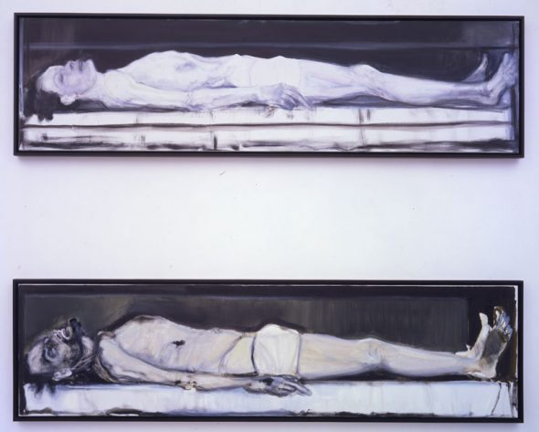 Marlene Dumas, Gelijkenis I & II, 2002 Pinault Collection