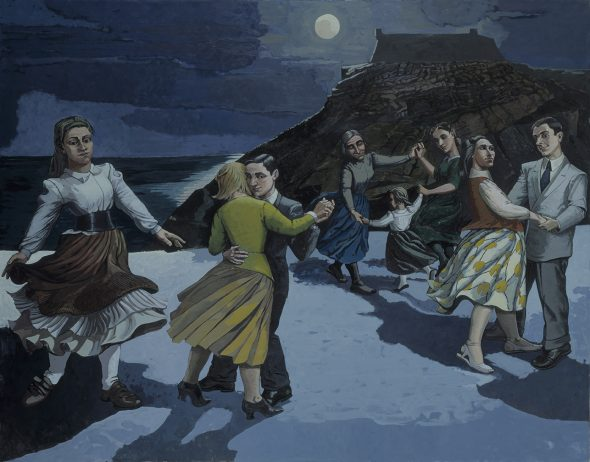 Paula Rego, The Dance , 1988, Acrylic paint on paper on canvas, 2126 x 2740 mm. Tate: Purchased 1989. © The Artist, courtesy Marlborough Lo ndon. Photo: © Tate,2019