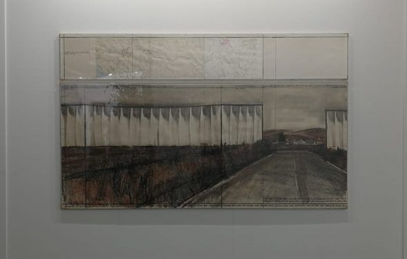 Christo e Jeanne-Claude, The running fence project
