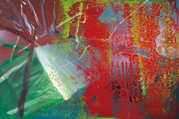 Gerhard Richter (b. 1932), Abstraktes Bild, painted in 1984. Oil on canvas. 200 x 300.4 cm