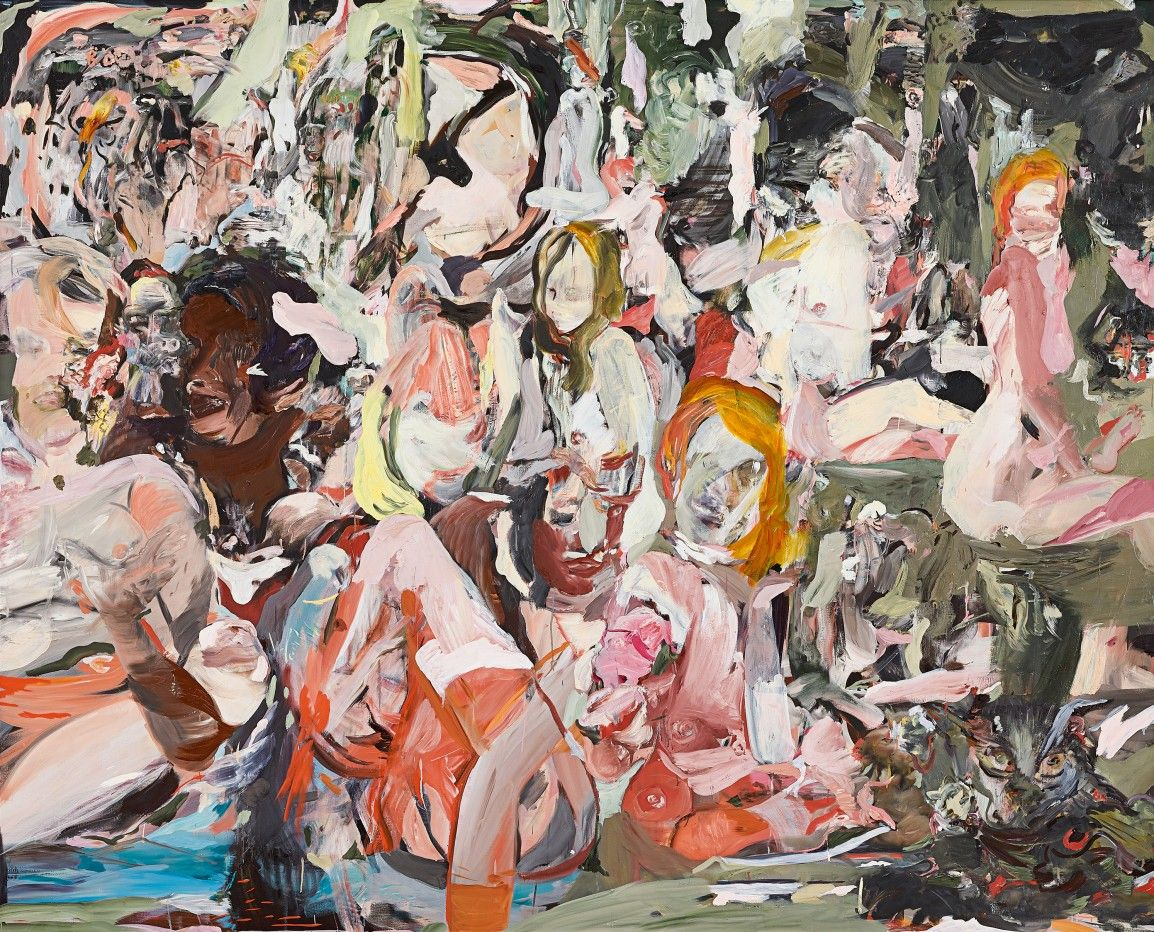Asta Sotheby's Londra ottobre 2019 Cecily Brown, The Year of the Scavenger, 2012