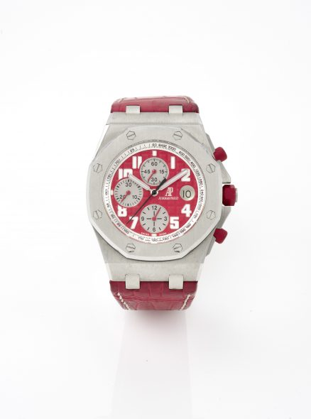 Audemars Piguet- Royal oak offshore chronograph limited edition stainless steel orologio da polso- 2008- 8.000-12.000