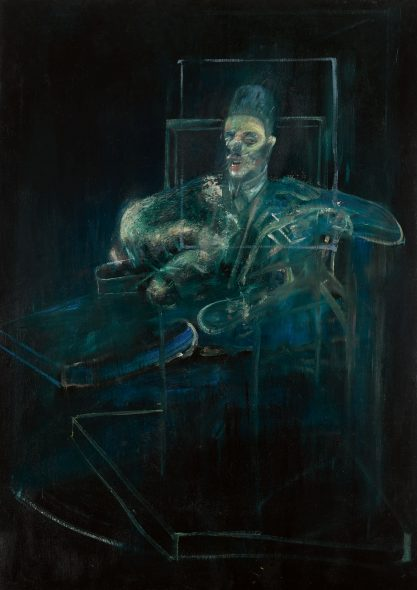 Francis Bacon, Pope, 1958