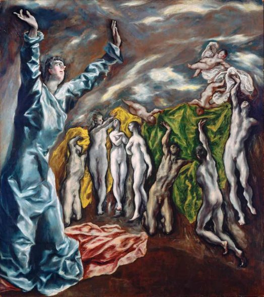 EL GRECO (Domínikos Theotokópoulos) La vision de saint Jean 1610-14 New York, The Metropolitan Museum of Art © Photo (C) The Metropolitan Museum of Art, Dist. RMN-Grand Palais - image of the MMA