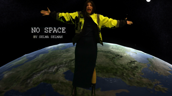Selma Selman, No Space, 2019, 360 single channel video, 4'40'', Video edited by Chonga Peter Lee, Courtesy of the artist and November gallery
