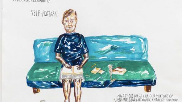 "Raymond Pettibon, ""No Title"" (In his writing), 2015"