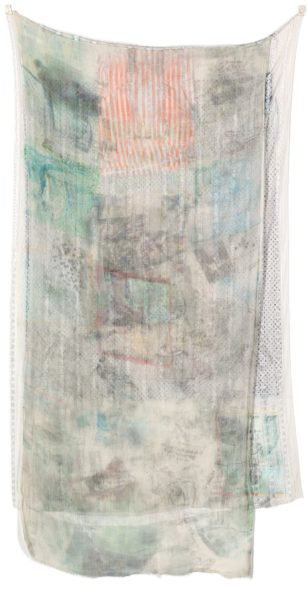 Robert Rauschenberg INDIAN (HOARFROST) SIGNED AND DATED 74, SOLVENT TRANSFER ON FABRICS. EXECUTED IN 1974. THIS WORK IS REGISTERED AT THE ROBERT RAUSCHENBERG FOUNDATION, NEW YORK, UNDER THE N. 74.029 AND IT IS ACCOMPANIED BY A PHOTO-CERTIFICATE ISSUED BY LEO CASTELLI AND SIGNED BY THE ARTIST. Estimate 40,000 — 60,000 EUR