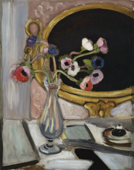 Henri Matisse (1869-1954) Anémones au miroir noir Price realised Price Realised is hammer price plus buyer's premium, net of any applicable fees. USD 5,269,000 Estimate USD 2,000,000 - USD 3,000,000