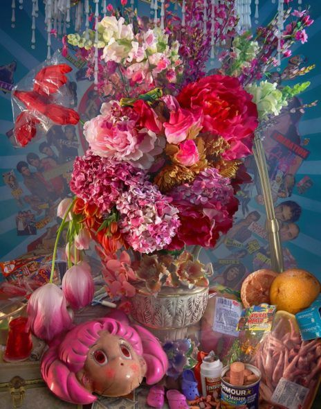 David LaChapelle, Earth Laughs in Flowers (Risk), 2008 - 2011, C - Print, 152x107 cm; Courtesy: Studio David LaChapelle