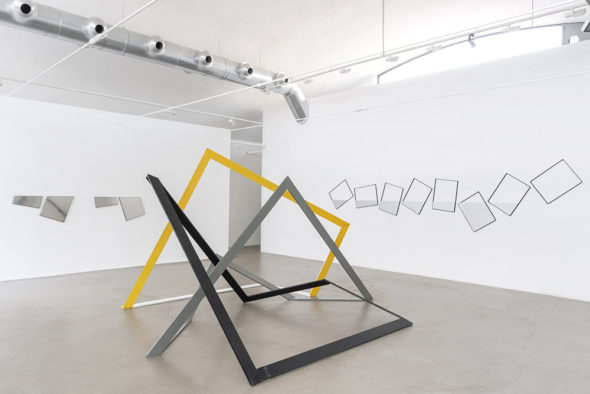 Grazia Varisco, M77 Gallery, installation view, Ph. Lorenzo Palmieri