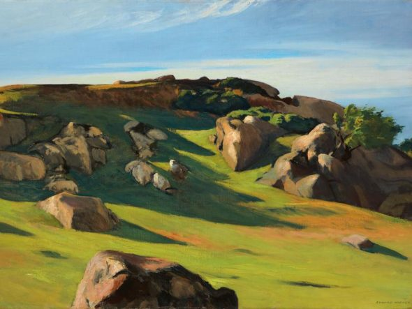 Edward Hopper, Cape Ann granite, 1928 / Autore: Privatsammlung / Detentore del copyright: © © Heirs of Josephine Hopper / 2019, ProLitteris, Zürich