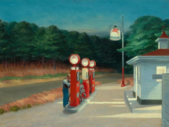 Edward Hopper, Gas, 1940 / Autore: The Museum of Modern Art, New York / Detentore del copyright: © © Heirs of Josephine Hopper / 2019, ProLitteris, Zurich - © 2019 Digital image, The Museum of Modern Art, New York / Scala, Florence