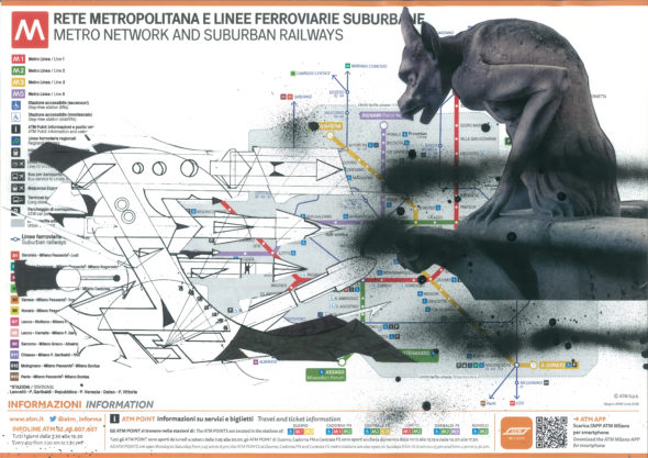 Flycat, Milan Subways Maps