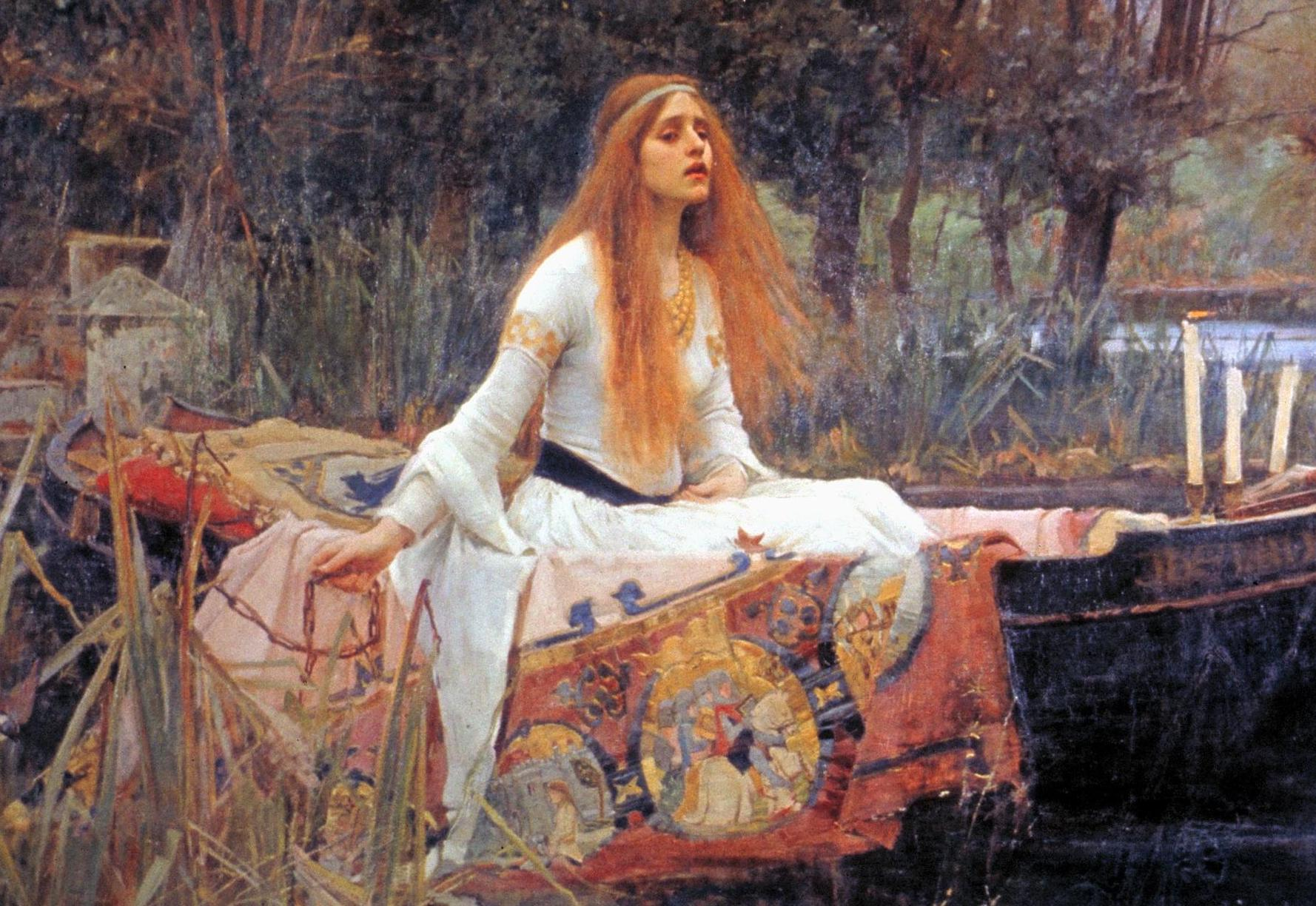 La maledizione della Lady of Shalott. Storia del dipinto di John William Waterhouse