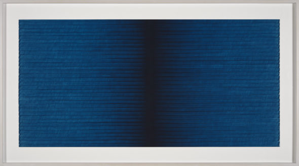 4)I.Blank, Radical Writings, Exercitium n.3, 1993, oil on card/olio su cartone, cm.34,5x70. Courtesy the artist and P420, Bologna photo credit C.Favero