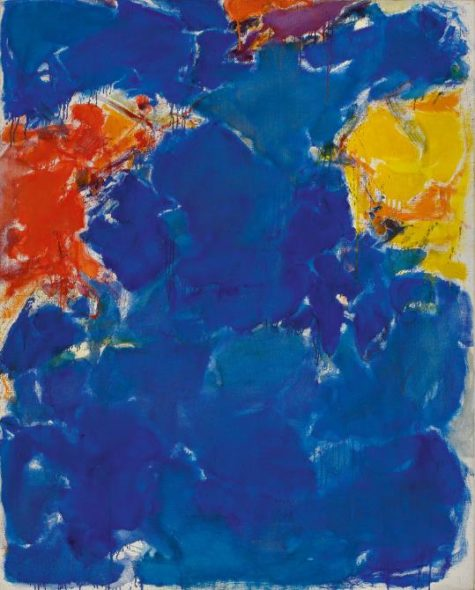 Anderson Collection, Deep Blue, Yellow, Red di Sam Francis