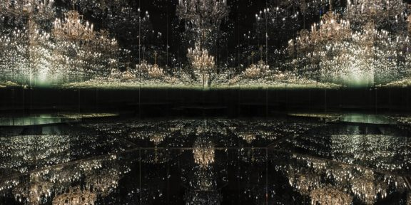 Yayoi Kusama, Chandelier of Grief, 2016, Courtesy Ota Fine Arts and Victoria Miro © YAYOI KUSAMA© Yayoi Kusama Photo courtesy of Tate Photography