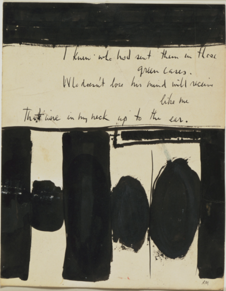 Robert Motherwell Elegy to the Spanish Republic No. 1 1948