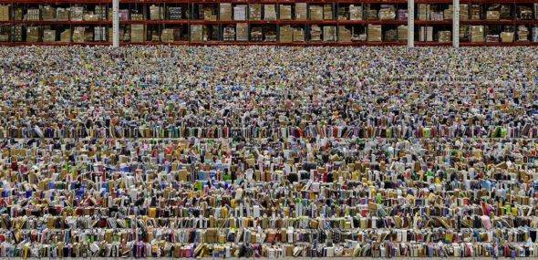 Jeu de Paume The supermarket of images 2020 Andreas Gursky, Amazon, 2016